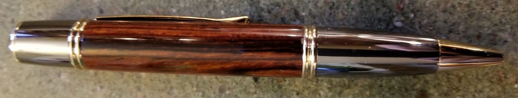 Gatsby Style Pen in Cocobola